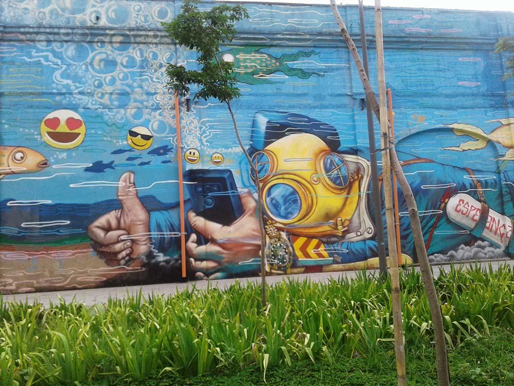 grafite aquario marinho do rio