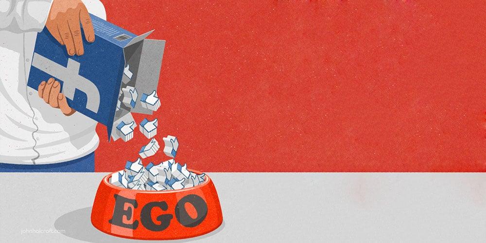 O ego nas redes sociais