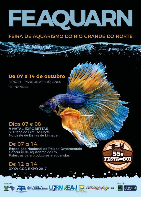 FEAQUARN - Feira de aquarismo do Rio Grande do Norte