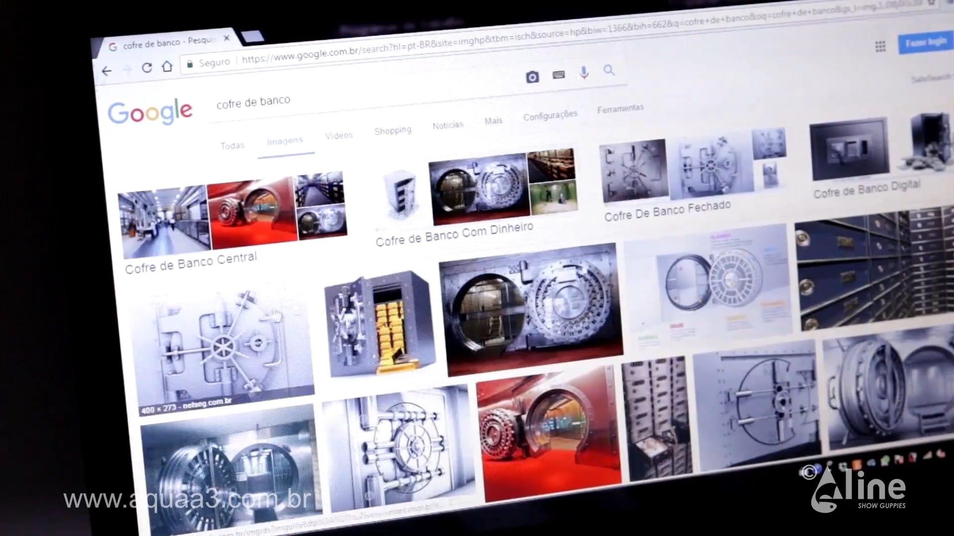 """Busque no Google Imagens o termo """"Cofre de banco"""""""