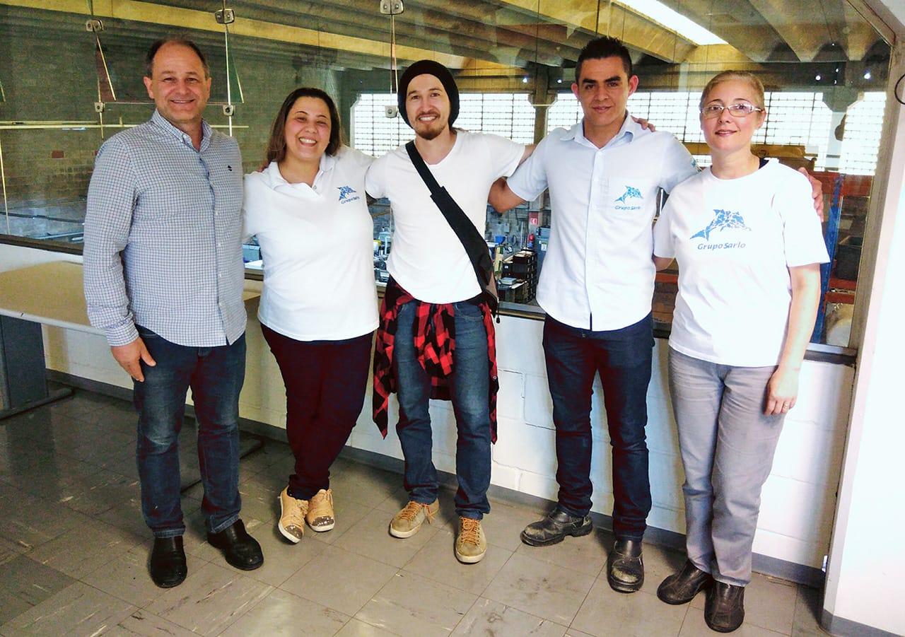 Fabian Kussakawa e Grupo Sarlo