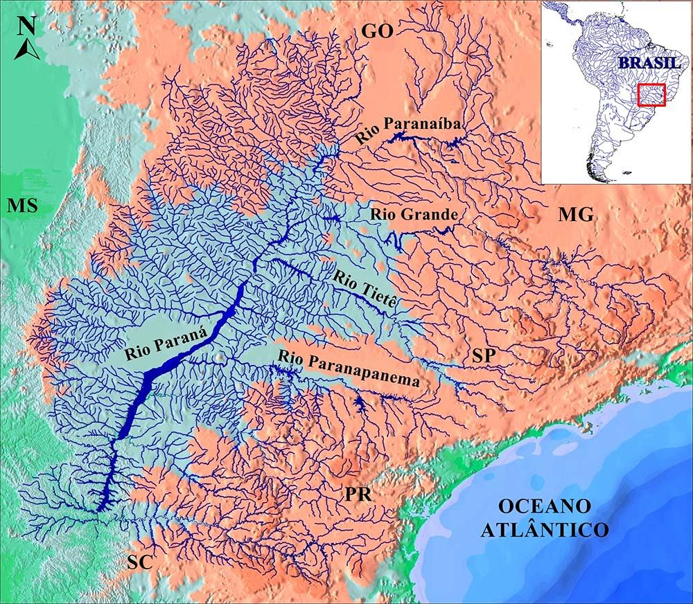 bacia do alto rio Paraná