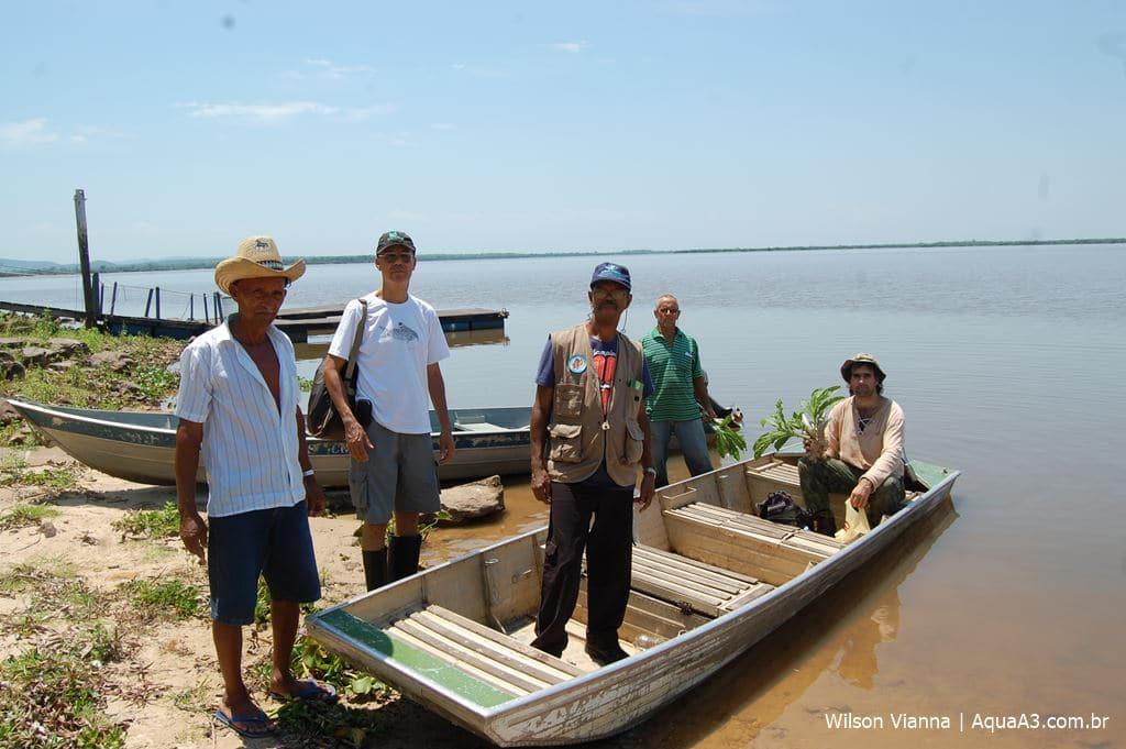 Equipe de pesquisadores no Pantanal Mato-Grossense