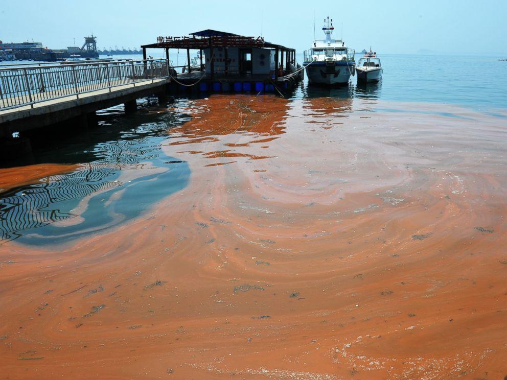 Maré vermelha na China