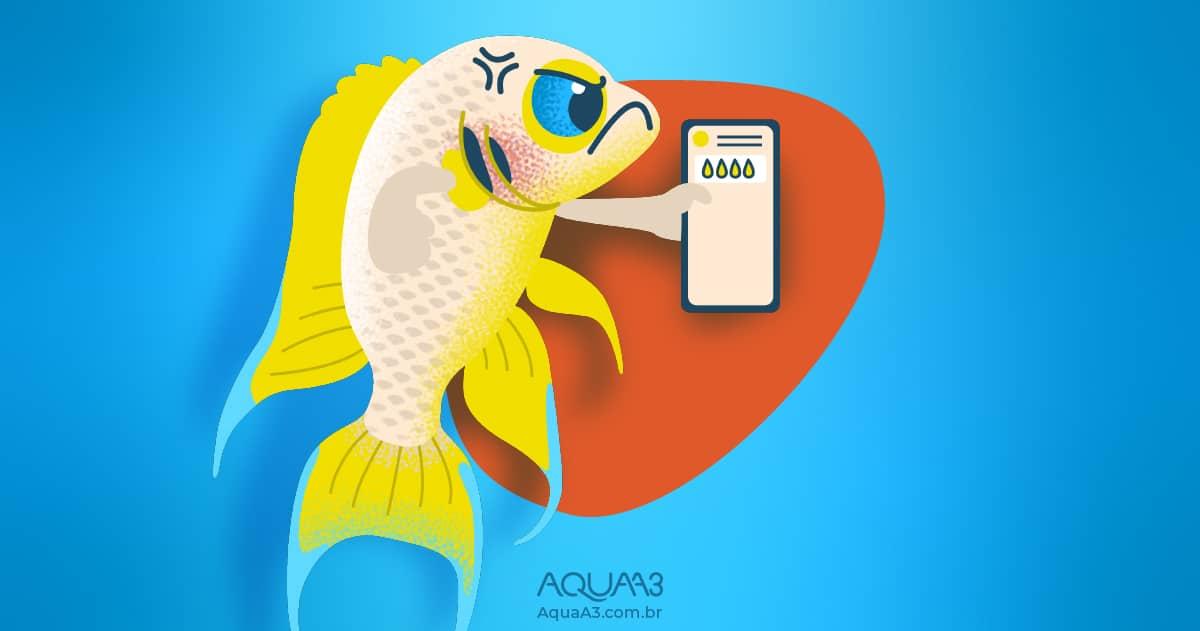 Peixes podem se comunicar uns com os outros usando xixi